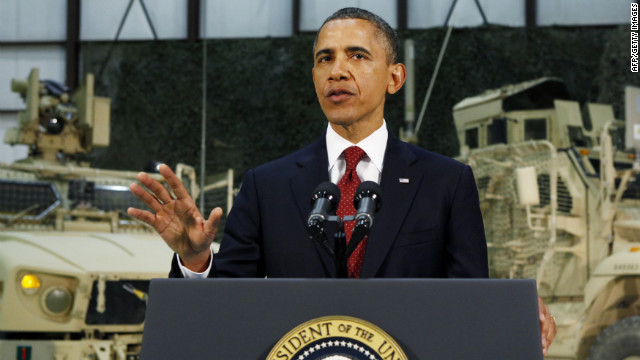President Barack Obama pledged to continue U.S. support for a sovereign, peaceful state in Afghanistan.