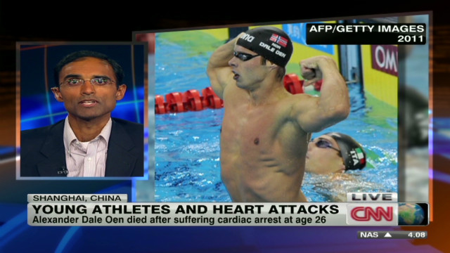Young athletes and heart attacks