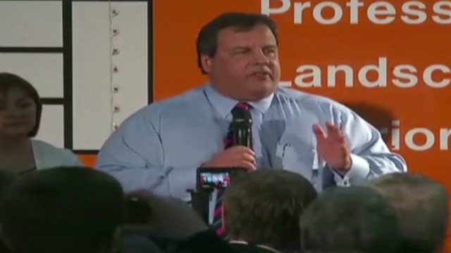 Gov. Christie talks budgets, 'Snooki'
