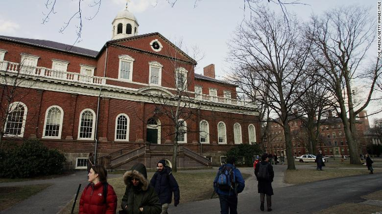United States justice department criticises Harvard over 'racial bias'