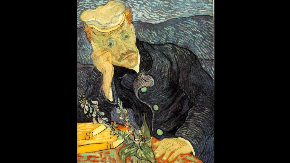 """Portrait du Dr. Gachet"" by Vincent van Gogh sold for $82.5 million in 1990."