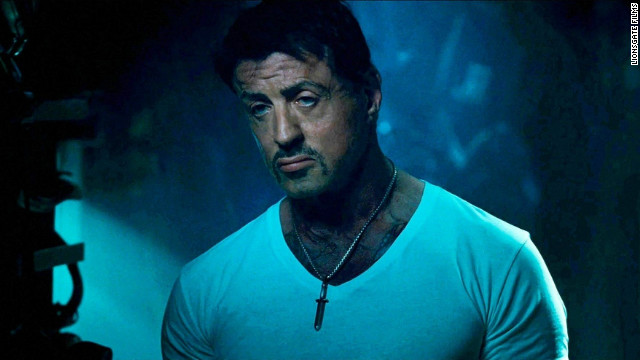 "Sylvester Stallone stars in ""The Expendables 2."""