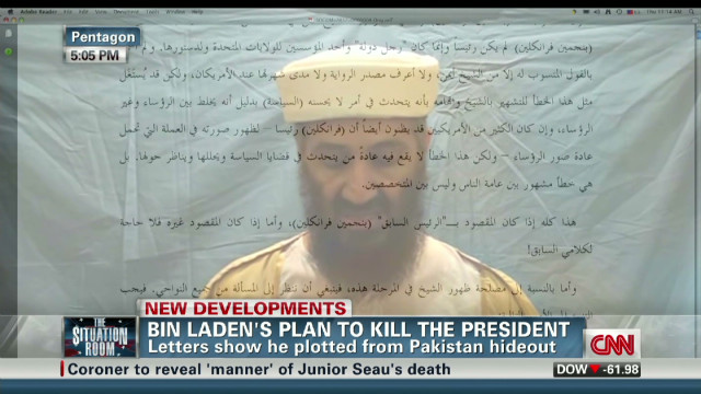 Bin Laden's plan to kill Obama
