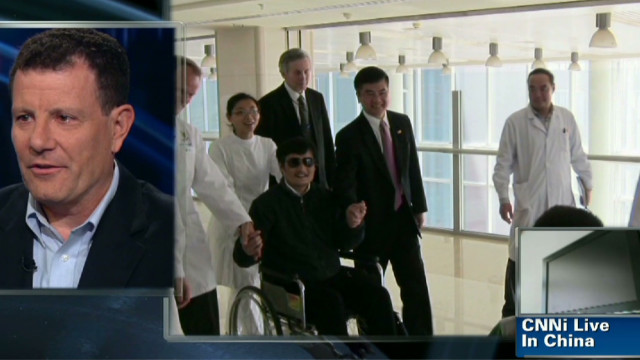 Chen Guangcheng has been offered a fellowship by a U.S. university, a State Department spokeswoman says.