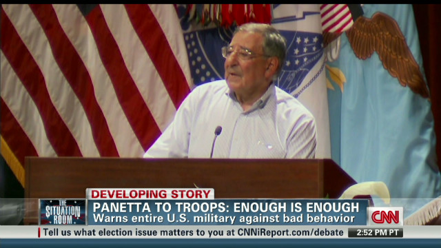 Panetta warns troops