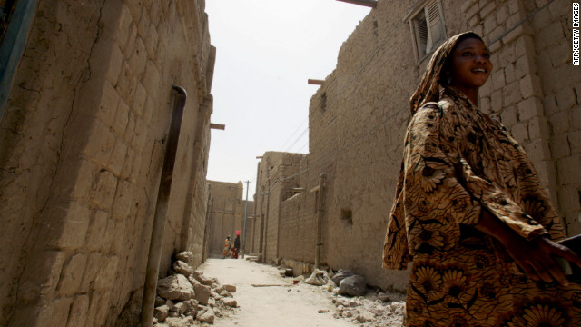 The ancient city of Timbuktu fell to Islamist rebels after the coup in Mali.