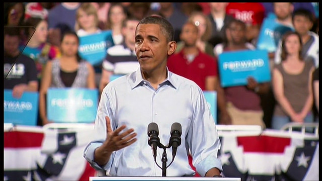 Obama criticizes Romney's tax cut plan