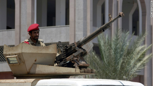Yemen's new president Abdrabuh Mansur Hadi vowed to push efforts to unite the country's armed forces.