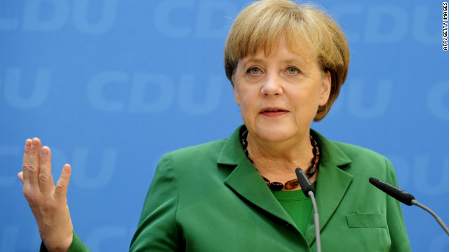 Merkel: EU fiscal pact not negotiable