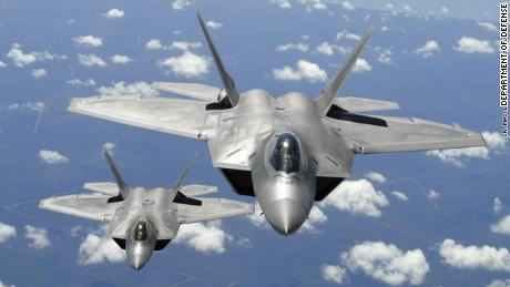 F-22s intercept Russian bombers, fighters off Alaska coast