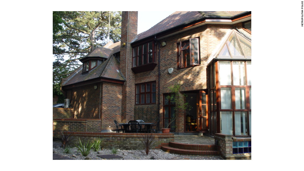 Ibori paid for this $3.5 milion Hampstead home in cash, and bought properties in Dorset, south west England and South Africa.