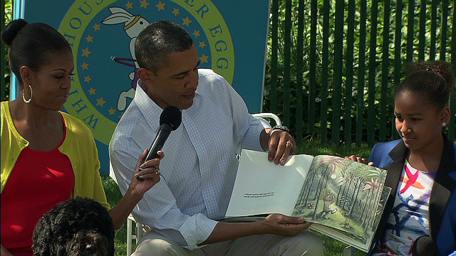 Obama gets in character for 'Wild Things'