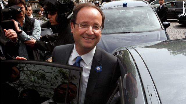 "Socialist François Hollande says the strong showing for the National Front is an expression of people's ""social anger."""