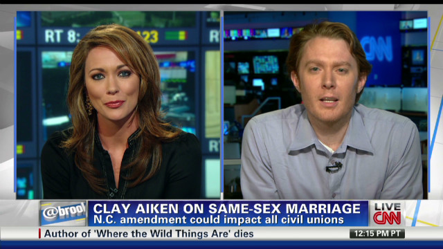 Clay Aiken: Amendment doesn't just target gays