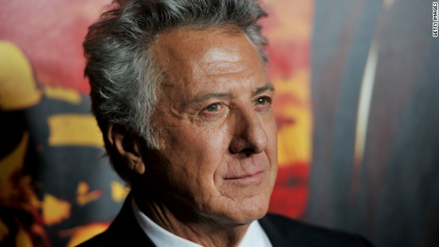 Actor/producer Dustin Hoffman arrives at the premiere of HBO's 'Luck' at the Chinese Theater on January 25, 2012 in Los Angeles, California