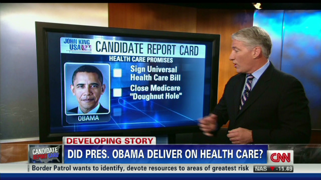 Pres. Obama's health care record