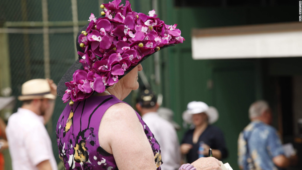 The race is as well known for its fashion as its horses, with hats the key accessory. It's not uncommon for Southern Belles to spend upwards of $10,000 to stand out, show off and out-do all the rest.