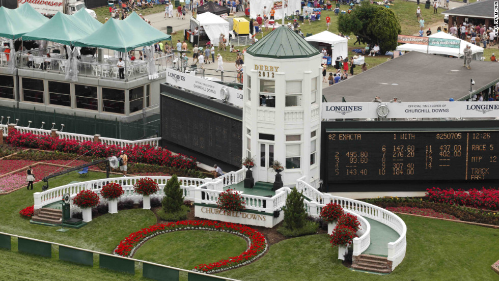 That very first derby was won by Aristides in front of an estimated crowd of 10,000. Nearly 140 years later, more than 165,000 people flocked to Churchill Downs for a chance to be a part of America's oldest continuous sporting event.