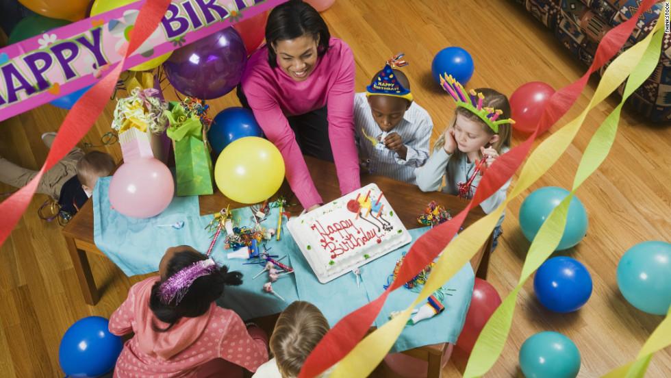 Etiquette Guide To Kids Birthday Parties CNN - Childrens birthday party etiquette uk