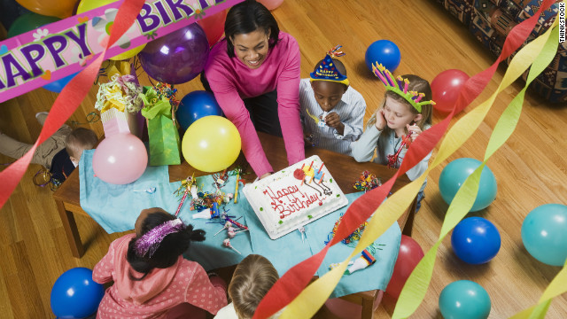 Just because they're kids doesn't mean you can't teach them birthday party etquette at a young age.