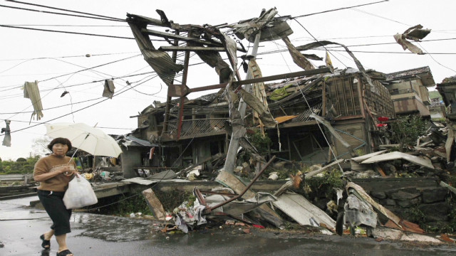 Disaster strikes twice in Japan