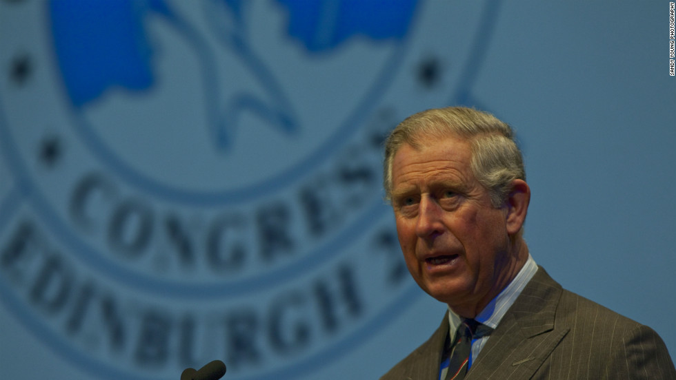 At the sixth World Fisheries Congress in Edinburgh, HRH the Prince of Wales discussed the future of fish stocks and their tasty correlative, fish and chips.
