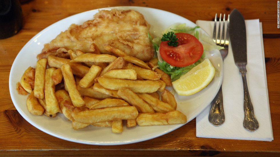 The ineffable fish and chips meal accounts for 10% of the UK's potato crop and 30% of its white fish sales.