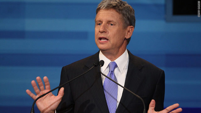 Gary Johnson: A presidential spoiler?