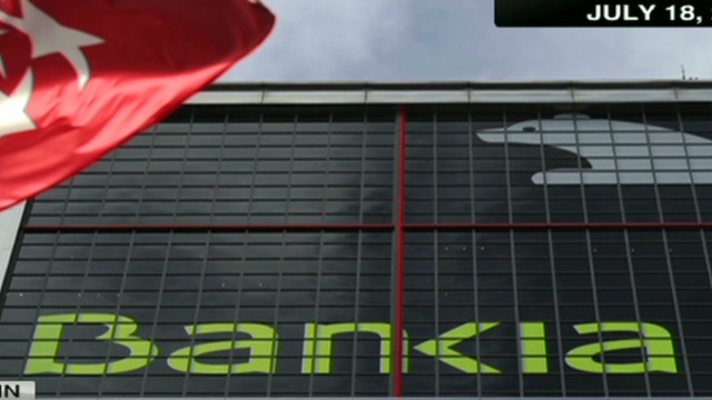 Spain's nationalized 'Bankia' recession