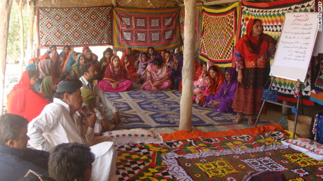 Women play a prominent role in Abdul Qadir Lashari village and its process toward empowerment and self-sustenance.