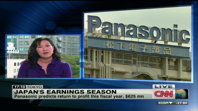 Profits bad for Panasonic, up for Nissan