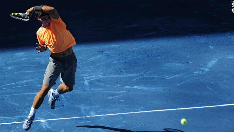 "Nadal's shock exit only added fire to complaints the blue clay is too slippery. Even before his defeat, the Spaniard tweeted: ""The history of clay court was on red. It wasn't on blue. Only one person wins -- the owner of the tournament."""