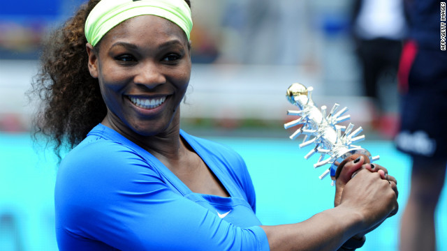 Serena Williams lost just one set during the Madrid tournament, which she won for the first time.