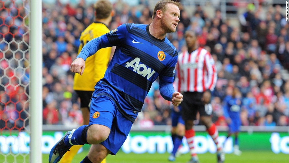 20 mins: Manchester United, relying on City to slip up against QPR, score first through Wayne Rooney in their must-win match at Sunderland. Advantage United!
