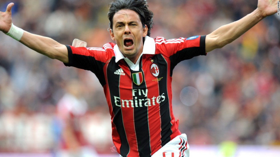 Filippo Inzaghi marked his final game for AC Milan in similar style to Del Piero, netting the winner in a 2-1 defeat of Novara. Milan finished second, four points behind Juve.