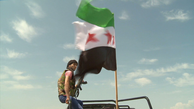 Up close with Syrian resistance