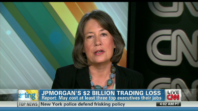 Sheila Bair on JPMorgan's loss