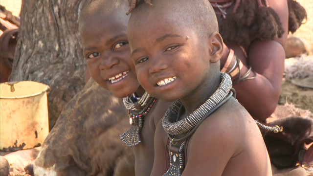 The traditions of the Himba people