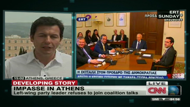 Political impasse continues in Greece