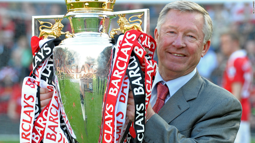 Alex Ferguson has led the Old Trafford side to all 12 titles. The 70-year-old Scot's contribution was rewarded with the best manager honor.