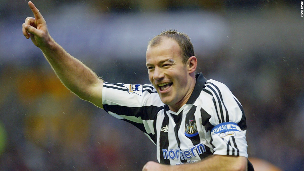 Former England striker Alan Shearer is the highest scorer in Premier League history, with 260 goals in spells with Blackburn Rovers and Newcastle United.