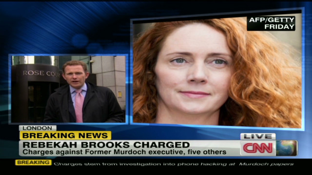 Rebekah Brooks faces conspiracy charges