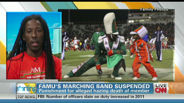 Student: FAMU suspension 'good start'