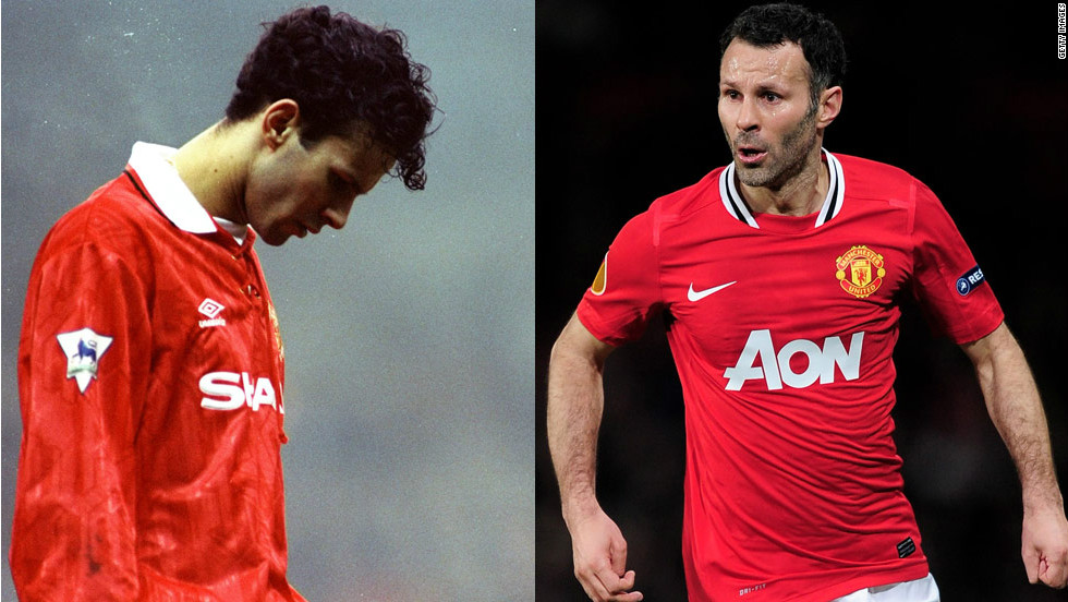 Manchester United's veteran midfielder Ryan Giggs has been named the best player in English Premier League history at an award ceremony to celebrate 20 years of the elite soccer division. The Welshman, 38, has played in every season, winning the title on 12 occasions and scoring 107 goals.
