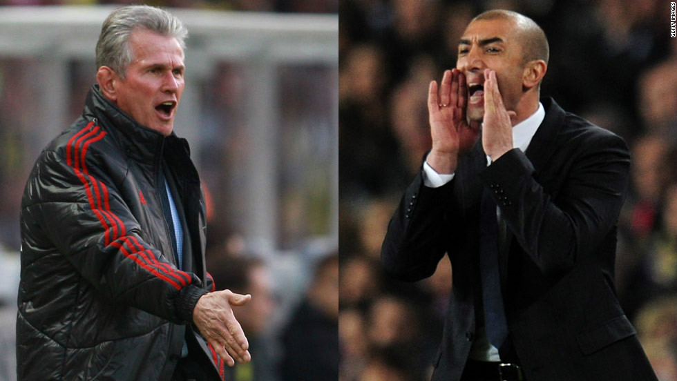 Bayern coach Jupp Heynckes won Europe's top club tournament with Real Madrid in 1998, while Chelsea's interim manager Roberto di Matteo is seeking to follow up this season's English FA Cup final success.