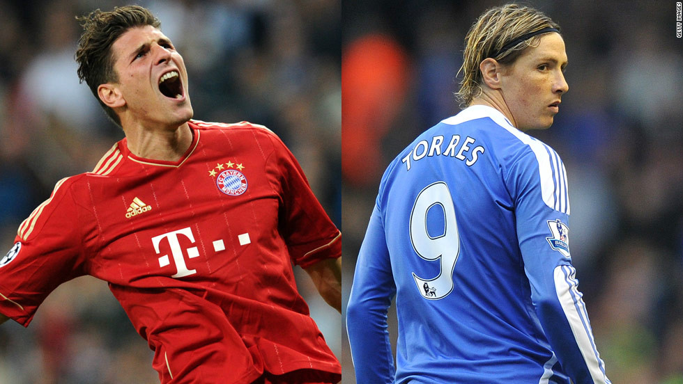Bayern's record signing is $40 million top scorer Mario Gomez. Chelsea splashed out twice that on Fernando Torres, who has struggled to find the net since leaving Liverpool in January 2011. Bayern's revenue is higher, but Abramovich has funded Chelsea's spending sprees.
