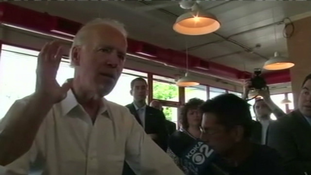 Biden: attack ad doesn't warrant comment