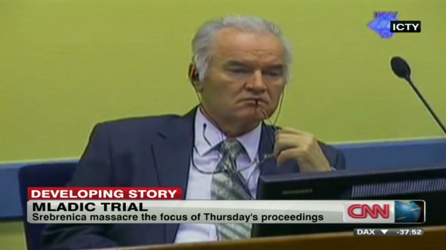 Srebrenica the focus of Mladic trial