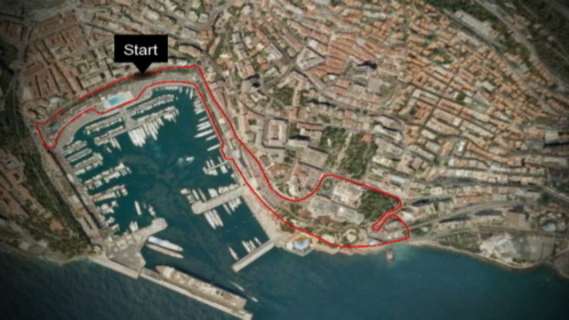 A virtual tour of the Monaco Grand Prix