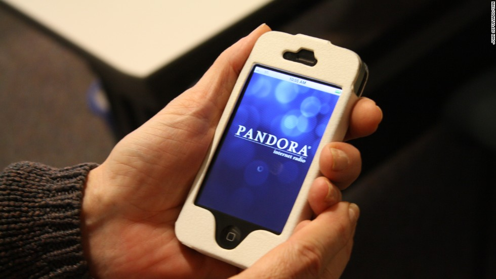 Pandora was already a popular desktop music-streaming service, but its appearance on smartphones allowed users to take their personalized tunes on the go.